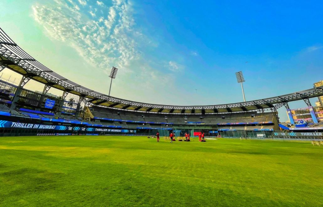 Wankhede Stadium hosted the first leg of the IPL 2021 | BCCI/IPL