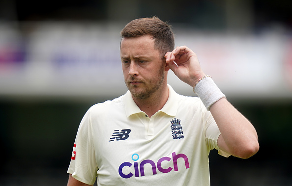 Ollie Robinson was suspended by the ECB last week   Getty Images