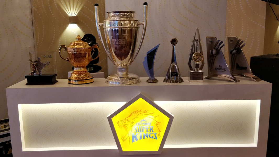 IPL 2018: The love story of Chennai Super Kings and their trophies displayed on Twitter