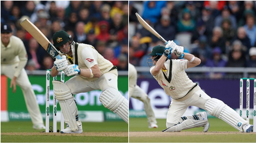Ashes 2019: WATCH- Steve Smith catches everyone's eyes with a crisp cover drive on wide delivery
