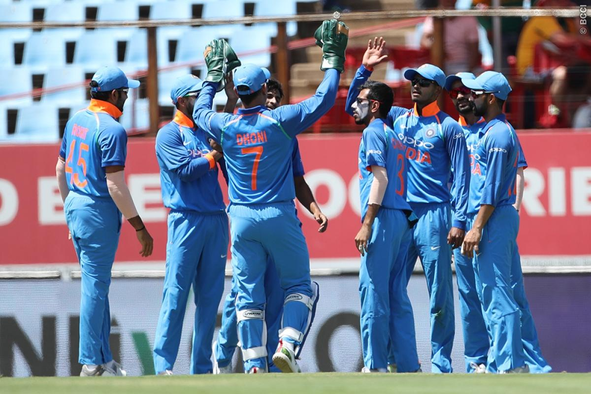 SA v IND 2018: Team India shares their joy after winning the SA ODI series 5-1