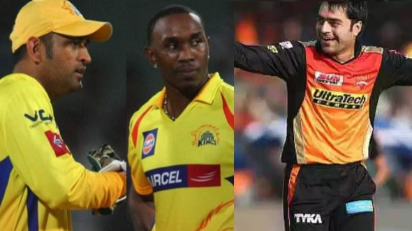 WATCH: Dwayne Bravo made a special video for MS Dhoni; Rashid Khan calls Dhoni the best finisher ever