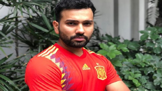 Rohit Sharma ready to root for Spain in upcoming FIFA World Cup 2018