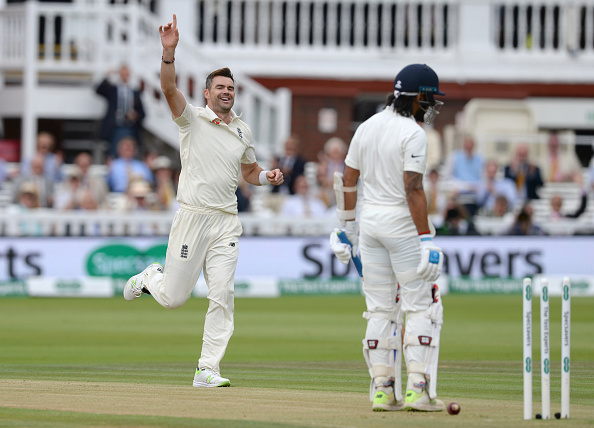 James Anderson needs 7 more wickets to go past Glenn McGrath's record of 563 Test wickets (Photo - getty)
