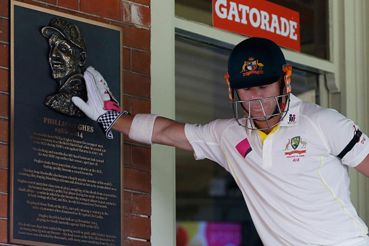 David Warner and Phil Hughes were close friends | Getty Images
