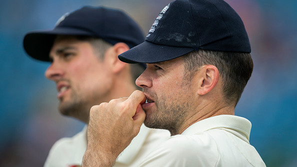 ENG v IND 2018: Watch – James Anderson's cheeky 'off-camera' tribute to Alastair Cook