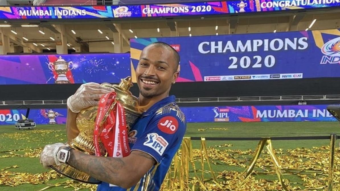 "IPL 2021: ""Thank you from bottom of my heart"" Hardik Pandya on 6th anniversary of his MI debut"