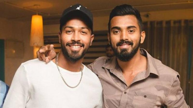 Hardik Pandya and KL Rahul | Instagram