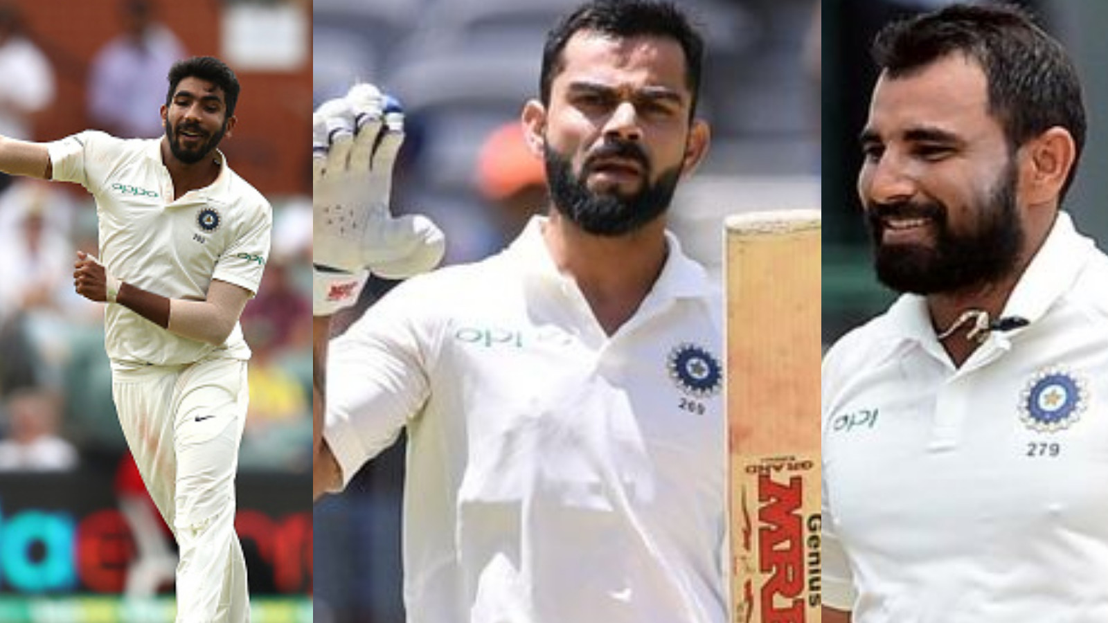 Virat Kohli cements himself as no.1 Test batsman; Bumrah and Shami gain big in latest Test rankings