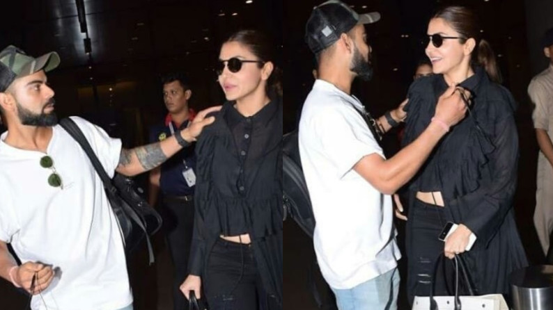 WATCH: Virat Kohli and Anushka Sharma reunite; the couple was spotted at Mumbai airport