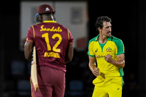 Mitchell Starc is currently playing in the West Indies   Getty Images
