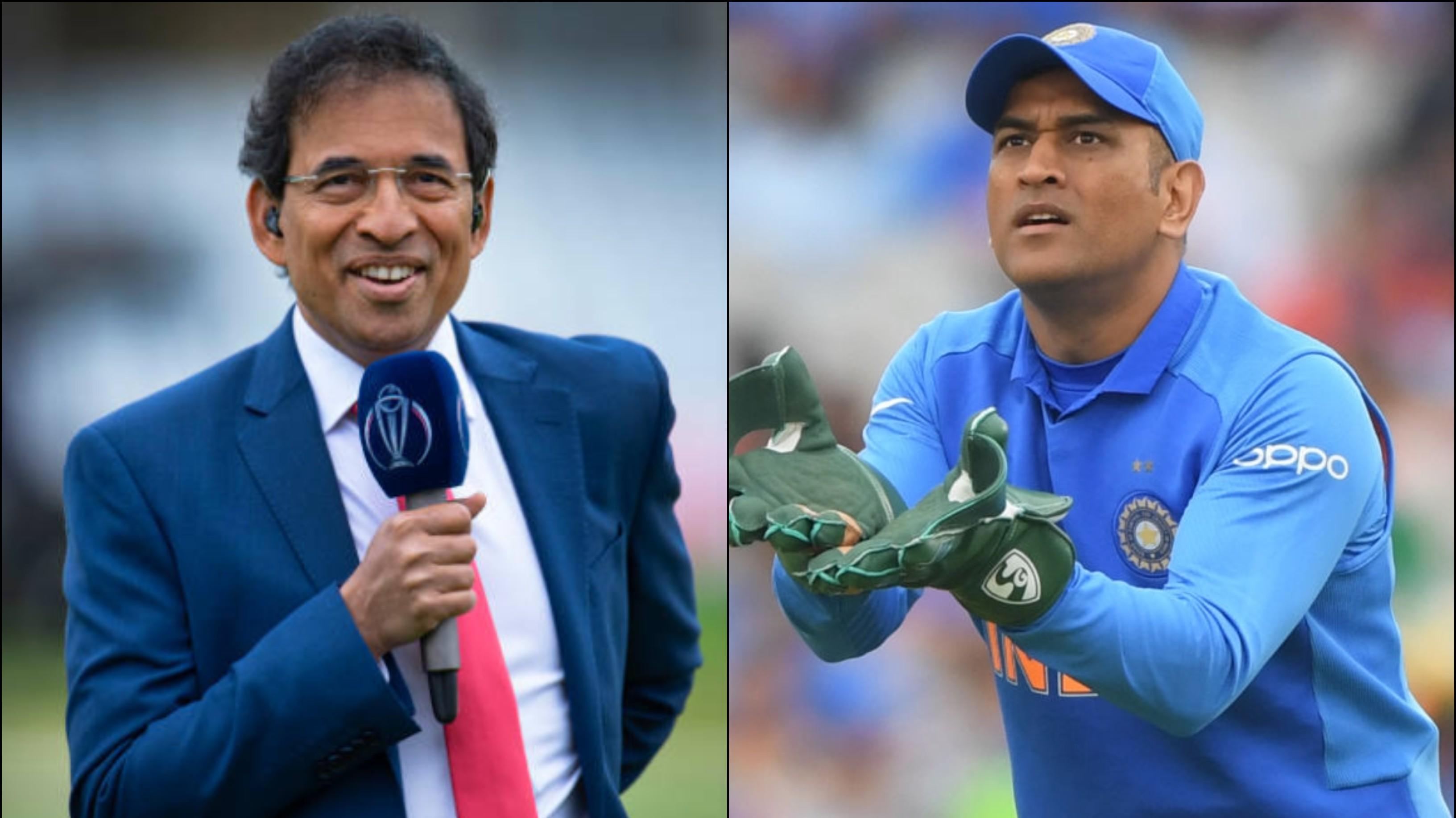 हर्षा भोगले के अनुसार आईपीएल का एक अच्छा सीजन महेंद्र सिंह धोनी के लिए स्थिति बदल देगा