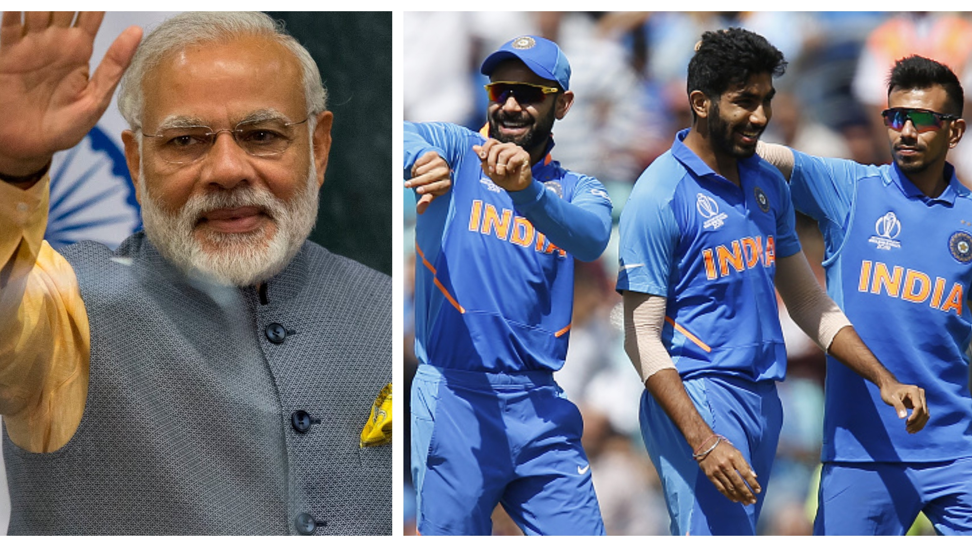CWC 2019: PM Narendra Modi wishes Virat Kohli and Team India all the best for World Cup