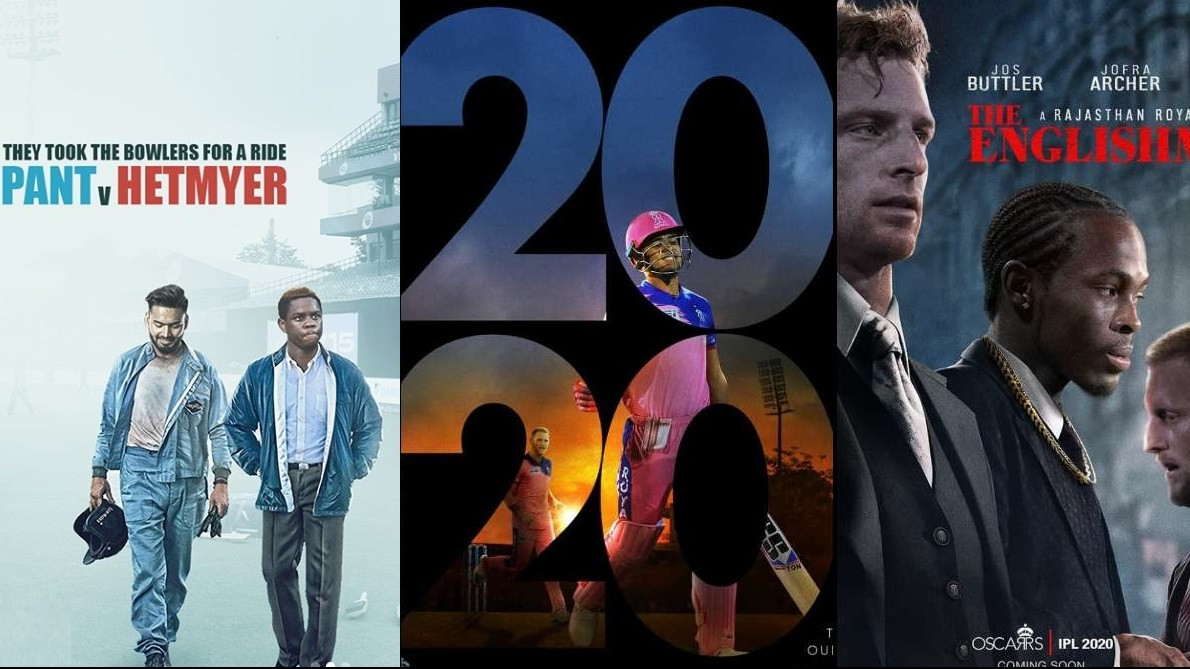 IPL 2020: IPL franchises share their movie posters on the occasion of Oscars