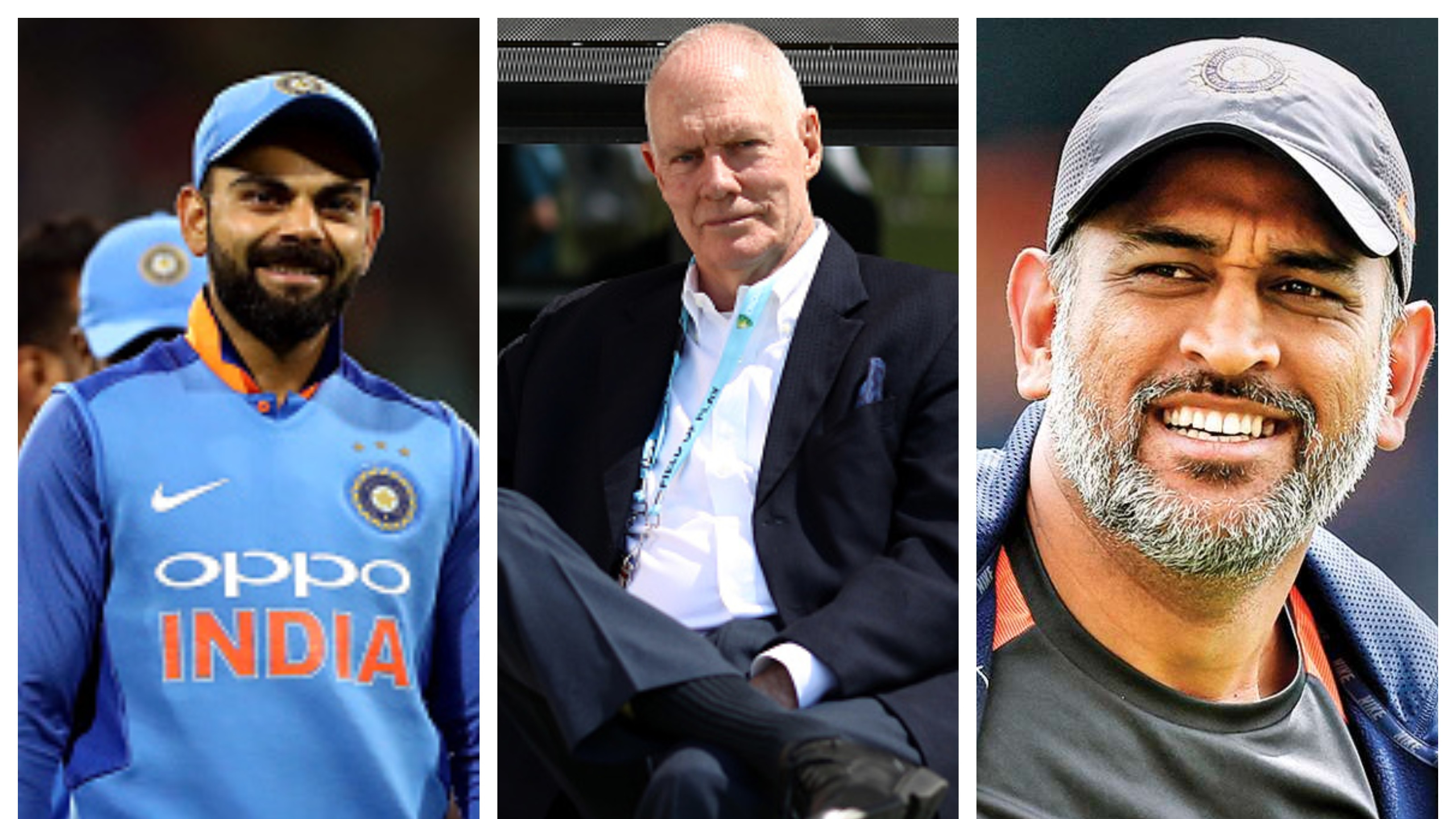 Greg Chappell compliments MS Dhoni and Virat Kohli for their immense popularity in Australia