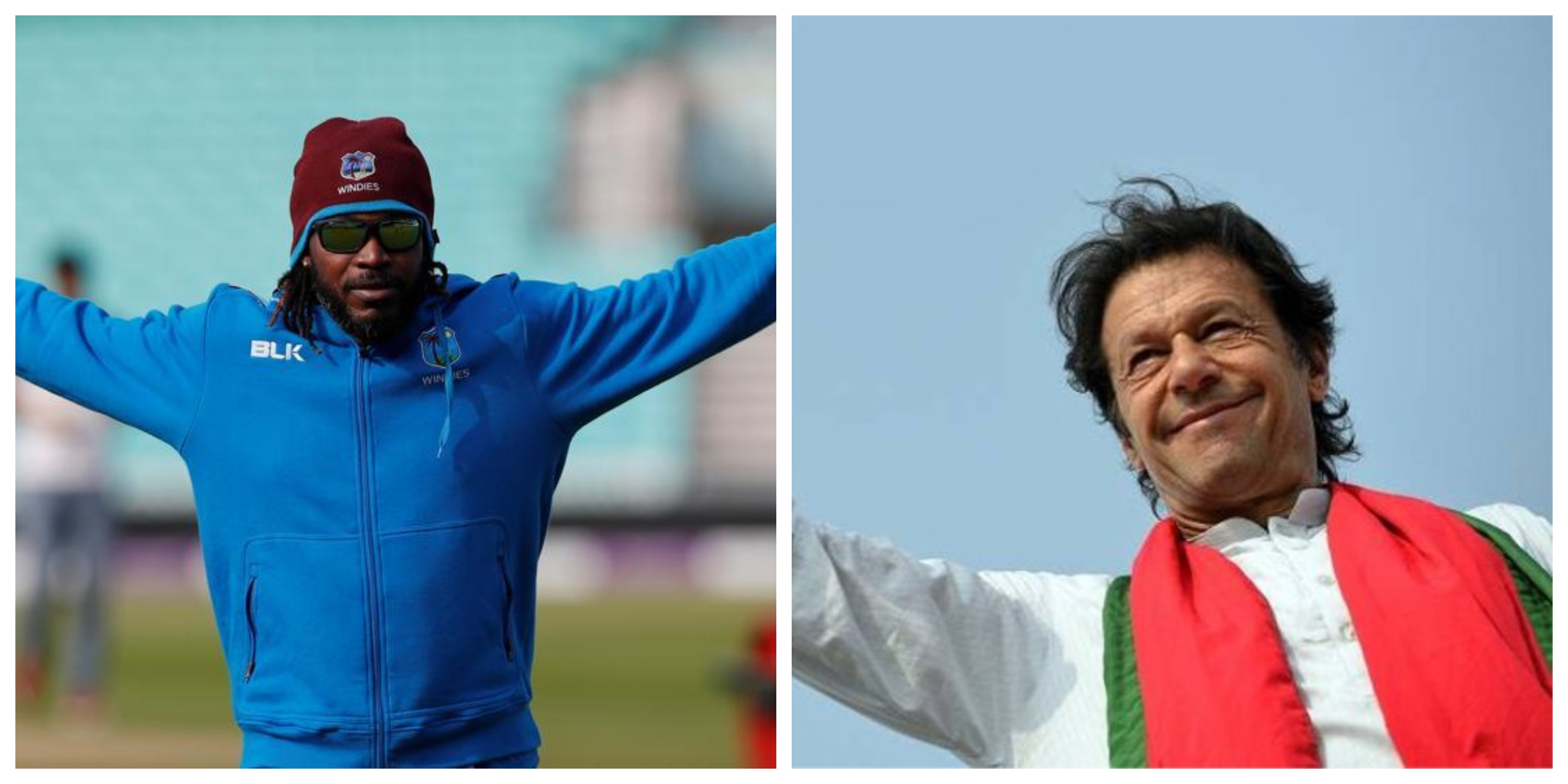 Imran Khan - Chris Gayle.