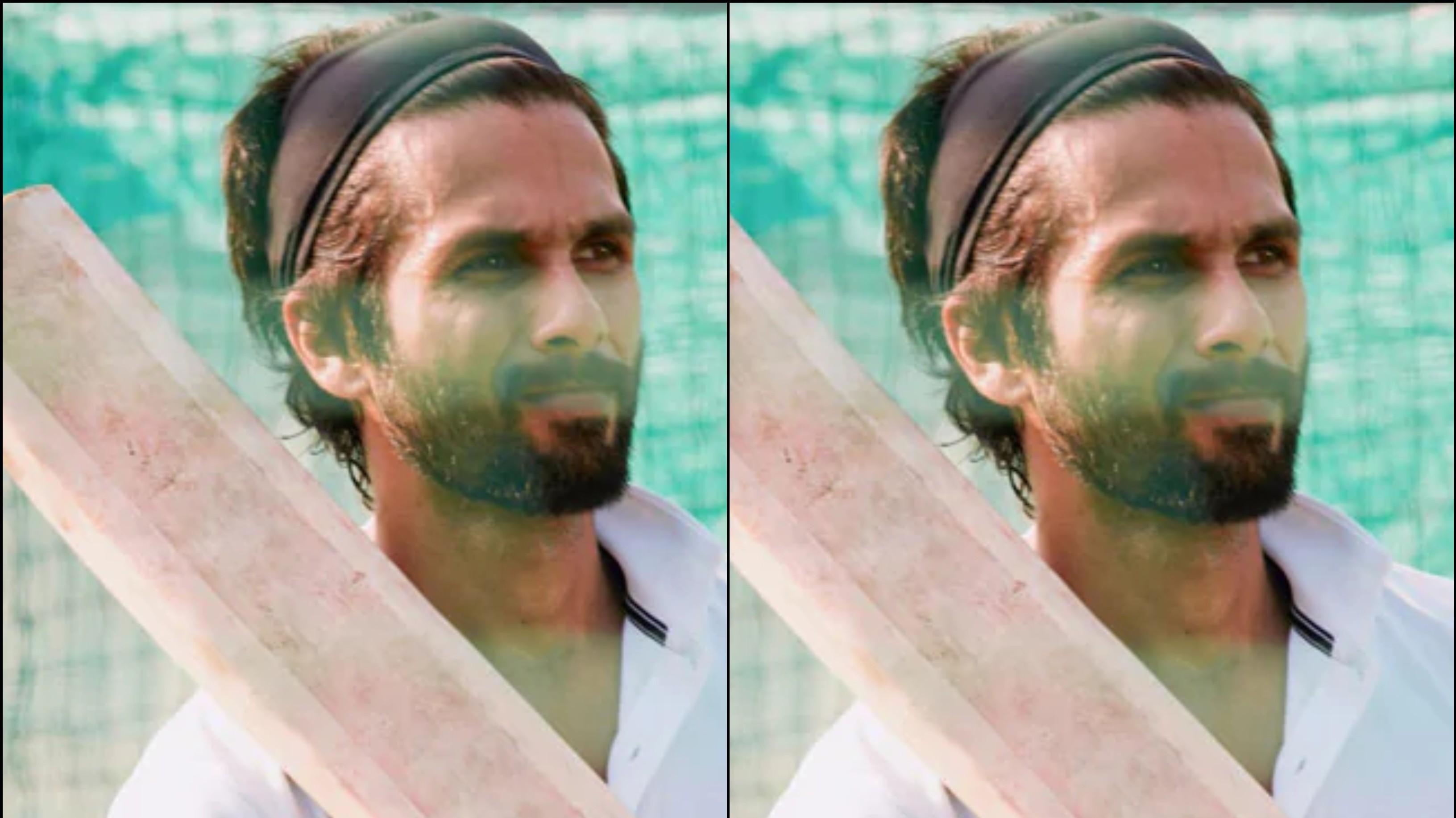 आगामी फिल्म 'जर्सी' के लिए क्रिकेट सीख रहे है शाहिद कपूर