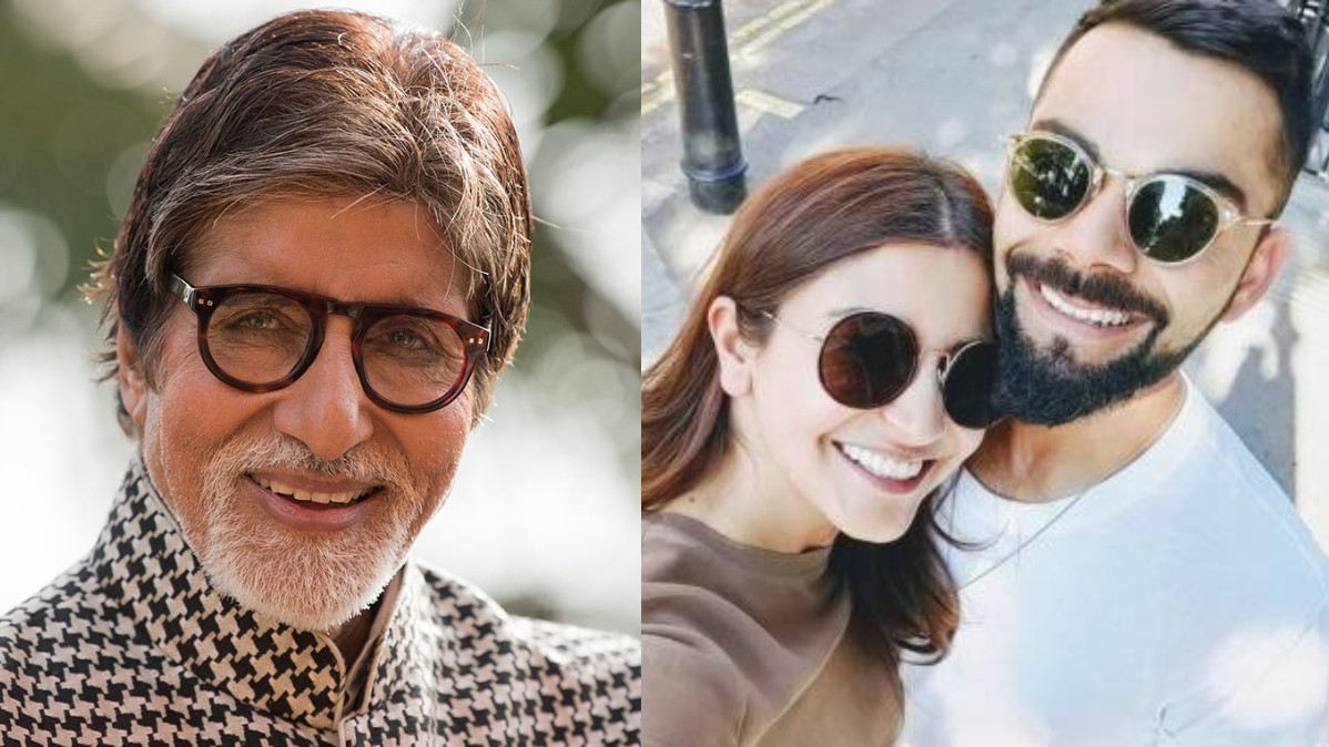 Amitabh Bachchan pokes fun at Virat Kohli and Anushka Sharma with a joke