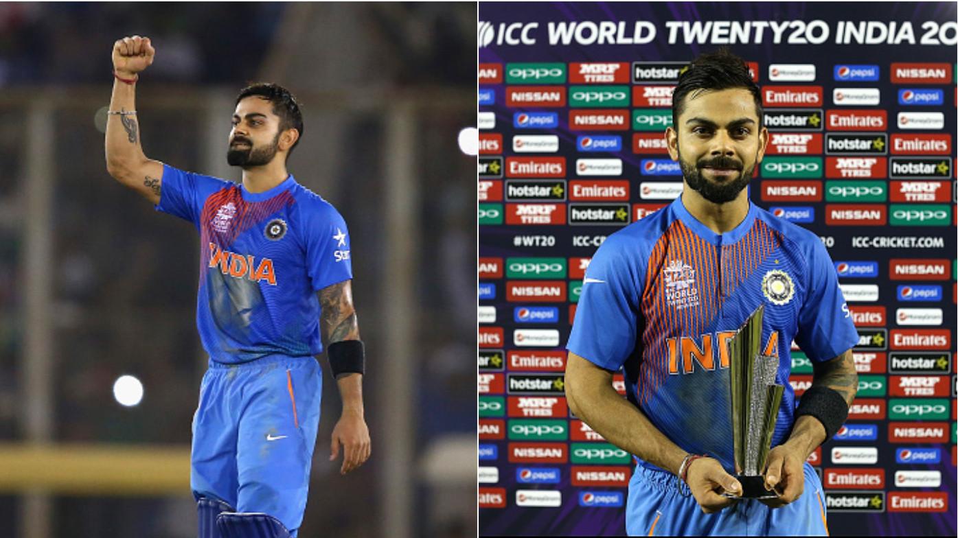 Virat Kohli's unbeaten 82 against Australia in 2016 voted as T20 World Cup's 'Greatest Moment'