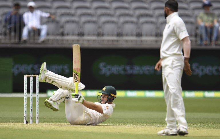 India and Australia played on a testing surface at Perth | Getty Images