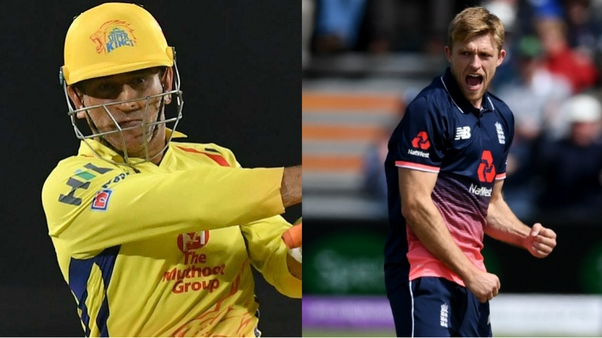 WATCH: England cricketer David Willey wants to wake up as MS Dhoni for a day