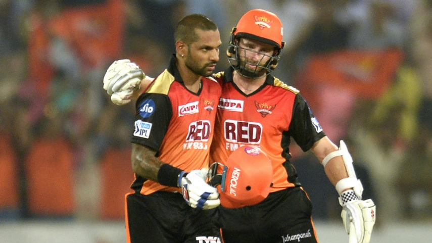 IPL 2018: Match 42, DD V SRH –  SRH into the playoffs thanks to brilliant chase by Shikhar Dhawan and Kane Williamson