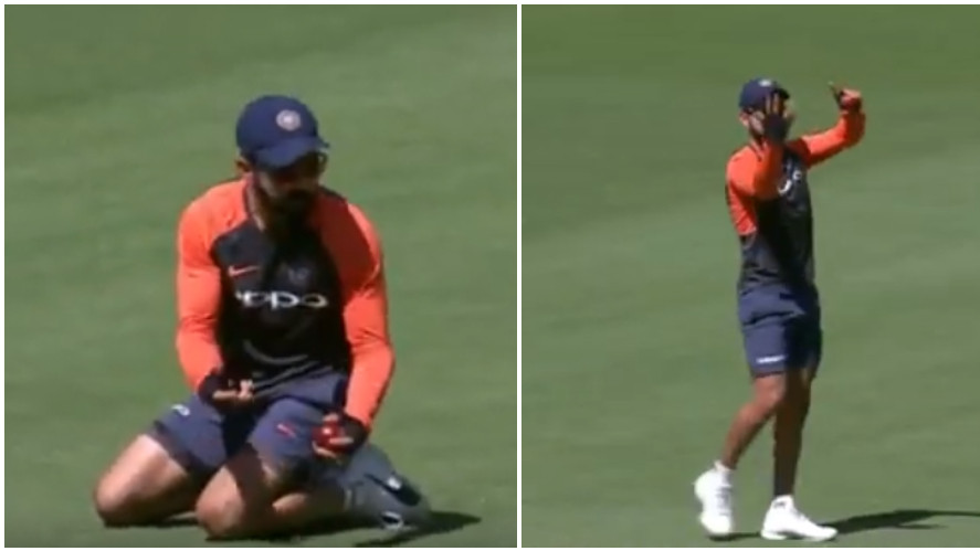 AUS v IND 2018-19: WATCH- Virat Kohli mocks Aussies for his controversial dismissal in the first innings