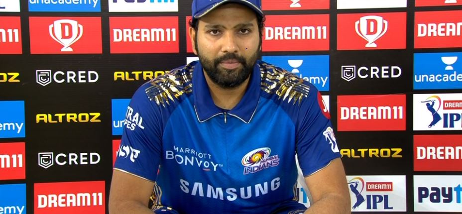 Rohit was elated with his team's performance | screengrab