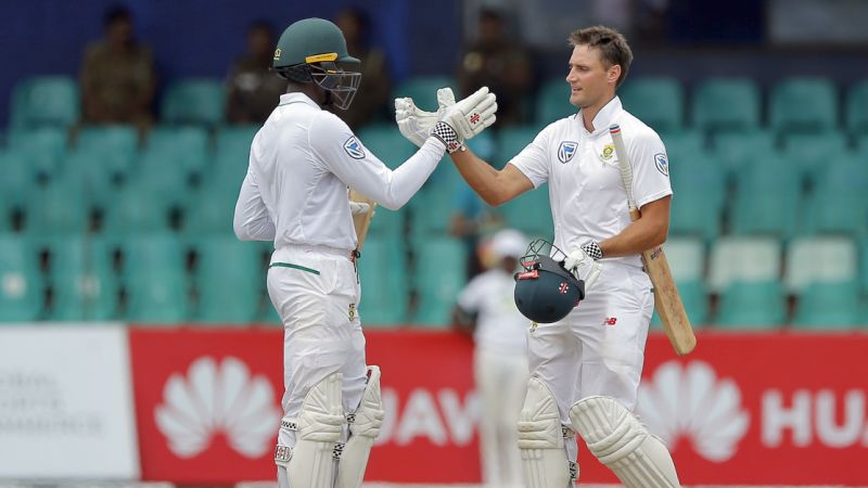 SL vs SA 2018: Theunis de Bruyn awaiting