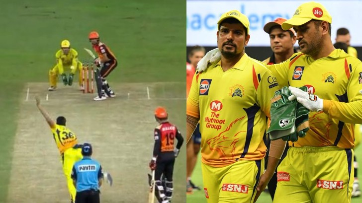 IPL 2020: WATCH - MS Dhoni furious with Karn Sharma for not sticking to the plan