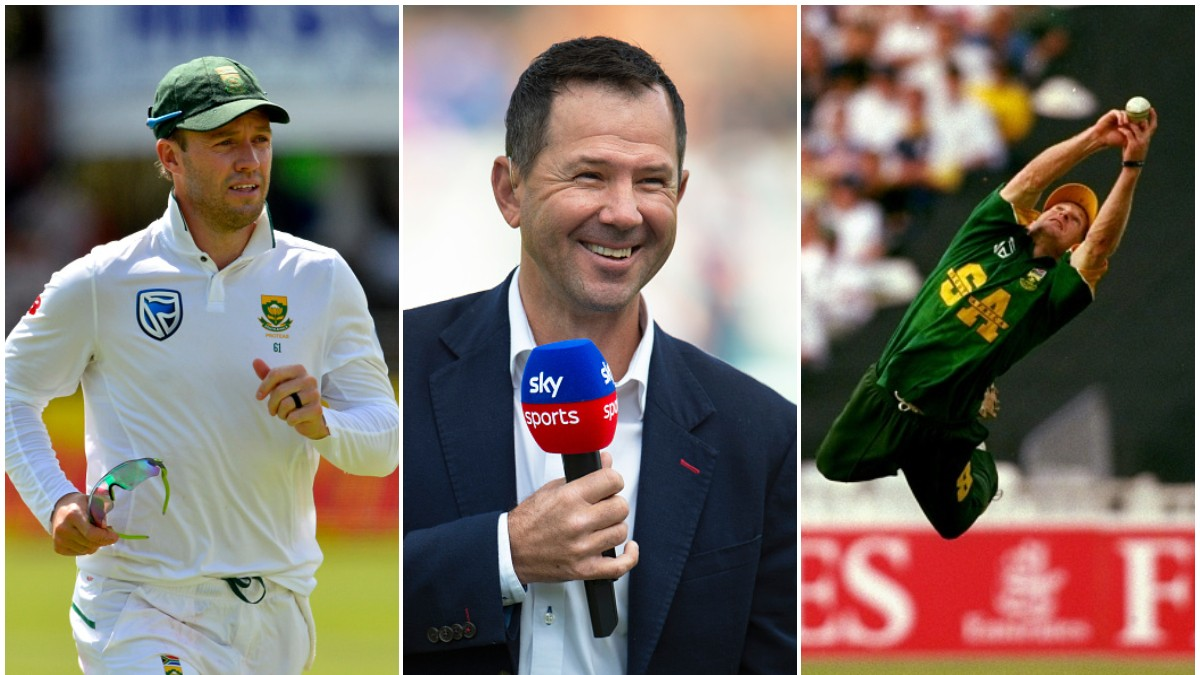Ricky Ponting picks his 'Top 3 fielders of all time'