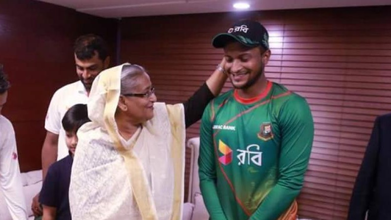 Bangladesh PM Sheikh Hasina comes out in support of underfire Shakib Al Hasan