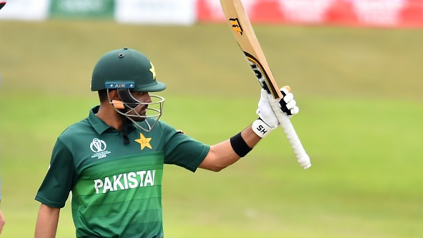 CWC 2019: WATCH- Babar Azam gets a bizarre question from a journalist after his 112 against Afghanistan