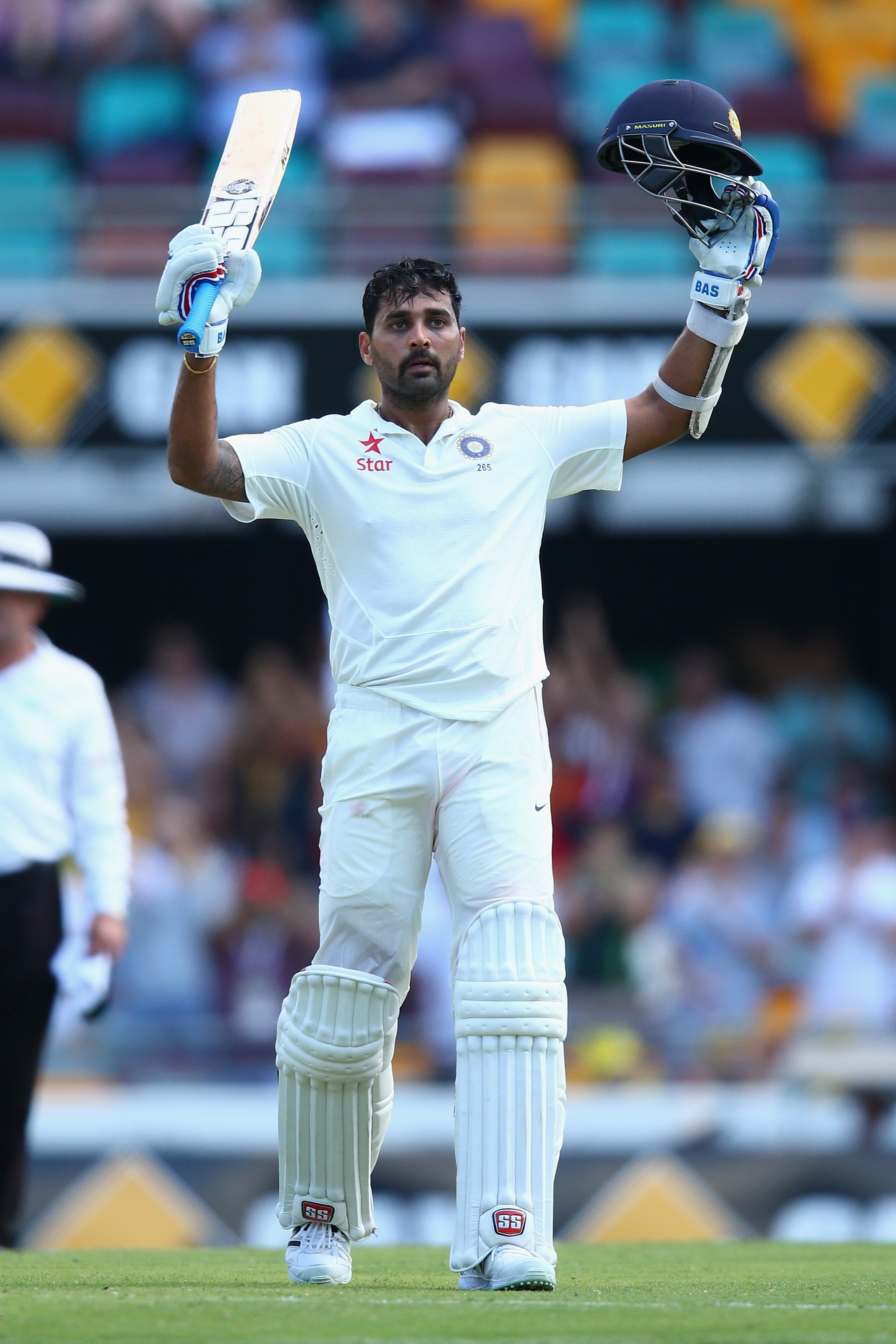 Not many batsmen can puff their chest out and say they excelled in their first Test at the bouncy Gabba. (Getty)