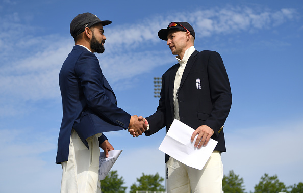 Virat Kohli and Joe Root | Getty Images