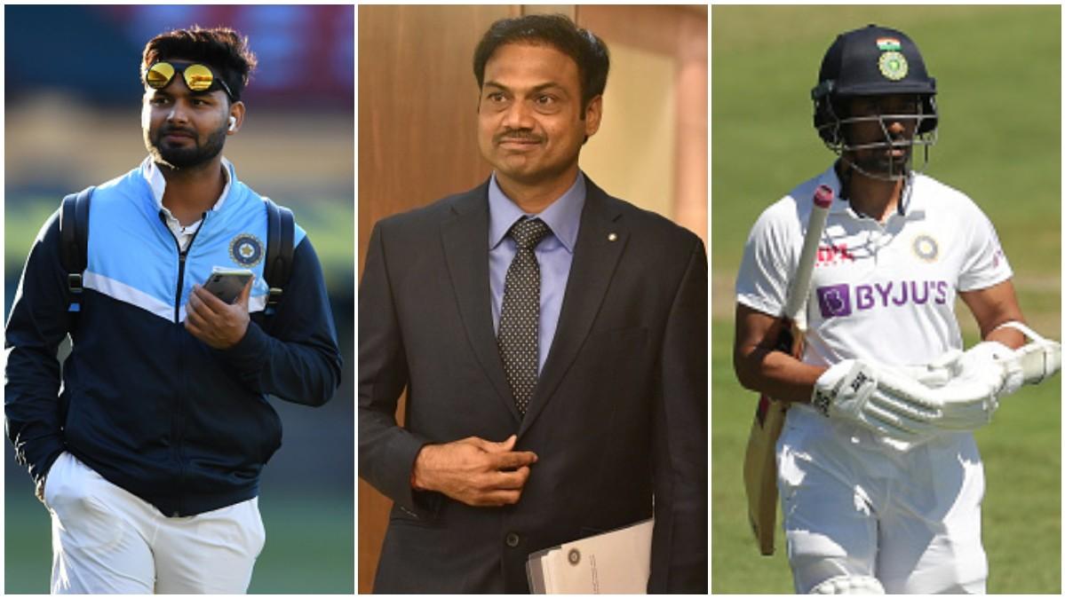 AUS v IND 2020-21: MSK Prasad wants Rishabh Pant in team in place of Saha; says Vihari should bat higher