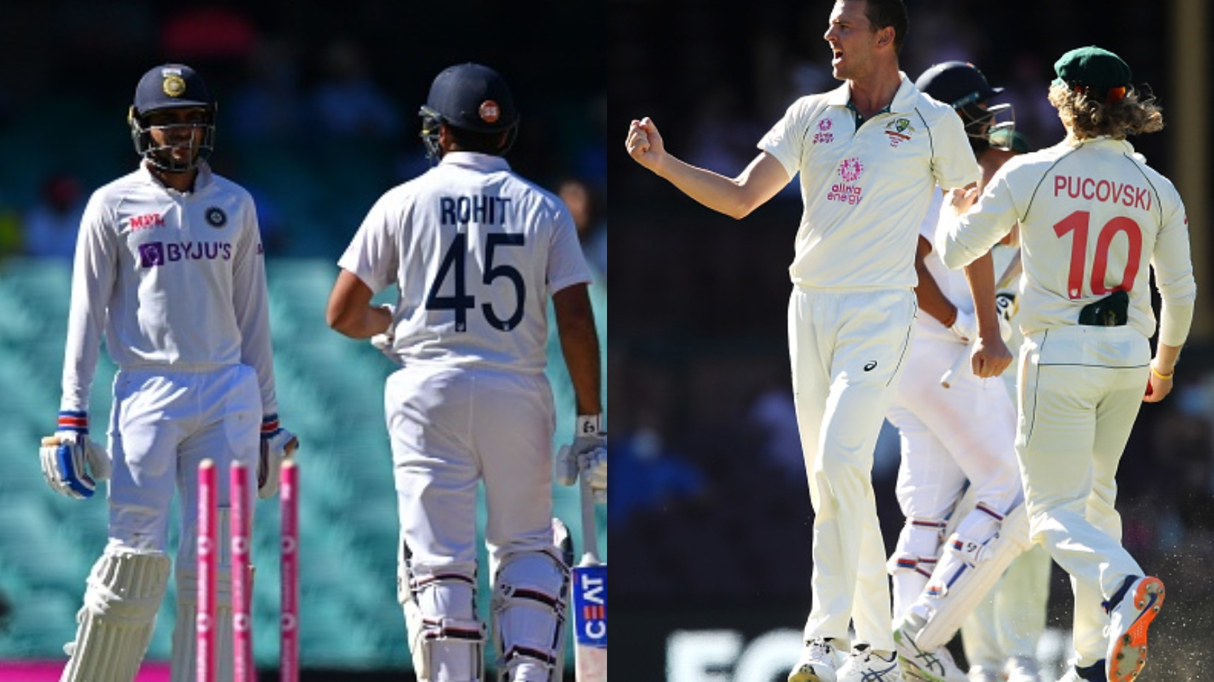 AUS v IND 2020-21: Rohit-Gill give India a head start with 309 more runs needed on day 5; Australia still favorites