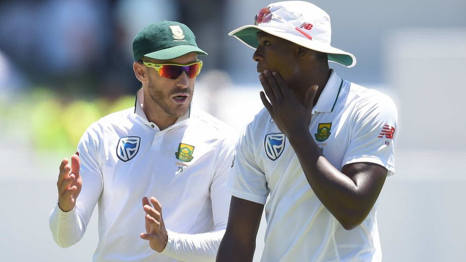 SA v AUS 2018: Faf du Plessis questions ICC's demerit system after Kagiso Rabada's suspension
