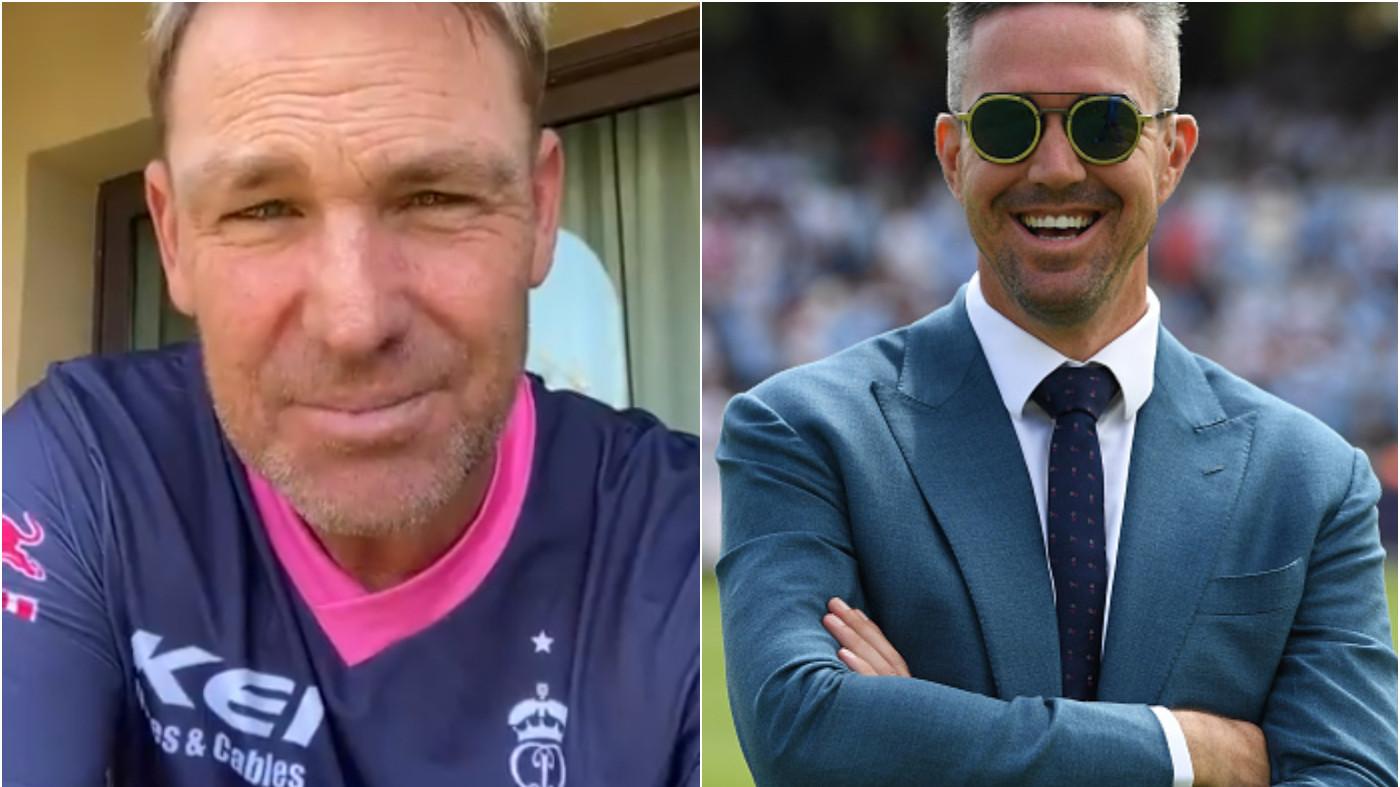 IPL 2021: Kevin Pietersen and Shane Warne predict the winner of IPL 14