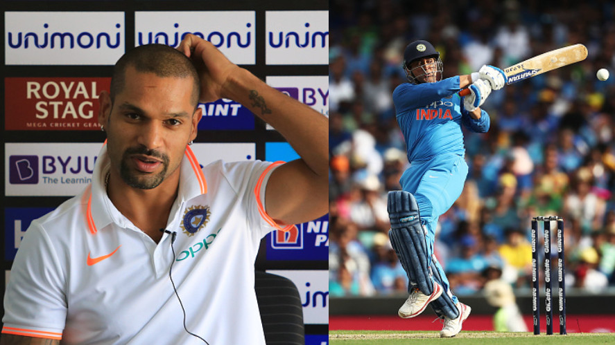 AUS v IND 2018-19: Shikhar Dhawan says MS Dhoni's presence at the crease gives confidence to other batsman