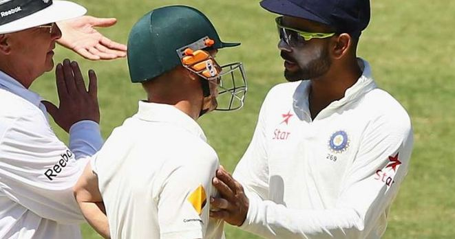 Virat Kohli had lots of spats with Aussies on his previous tours down under | Getty