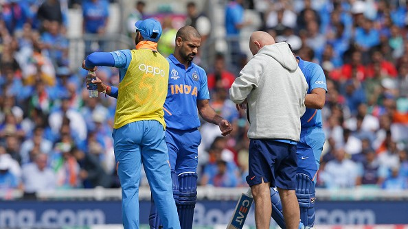 CWC 2019: Shikhar Dhawan quotes lines from Dr. Rahat Indori's poem