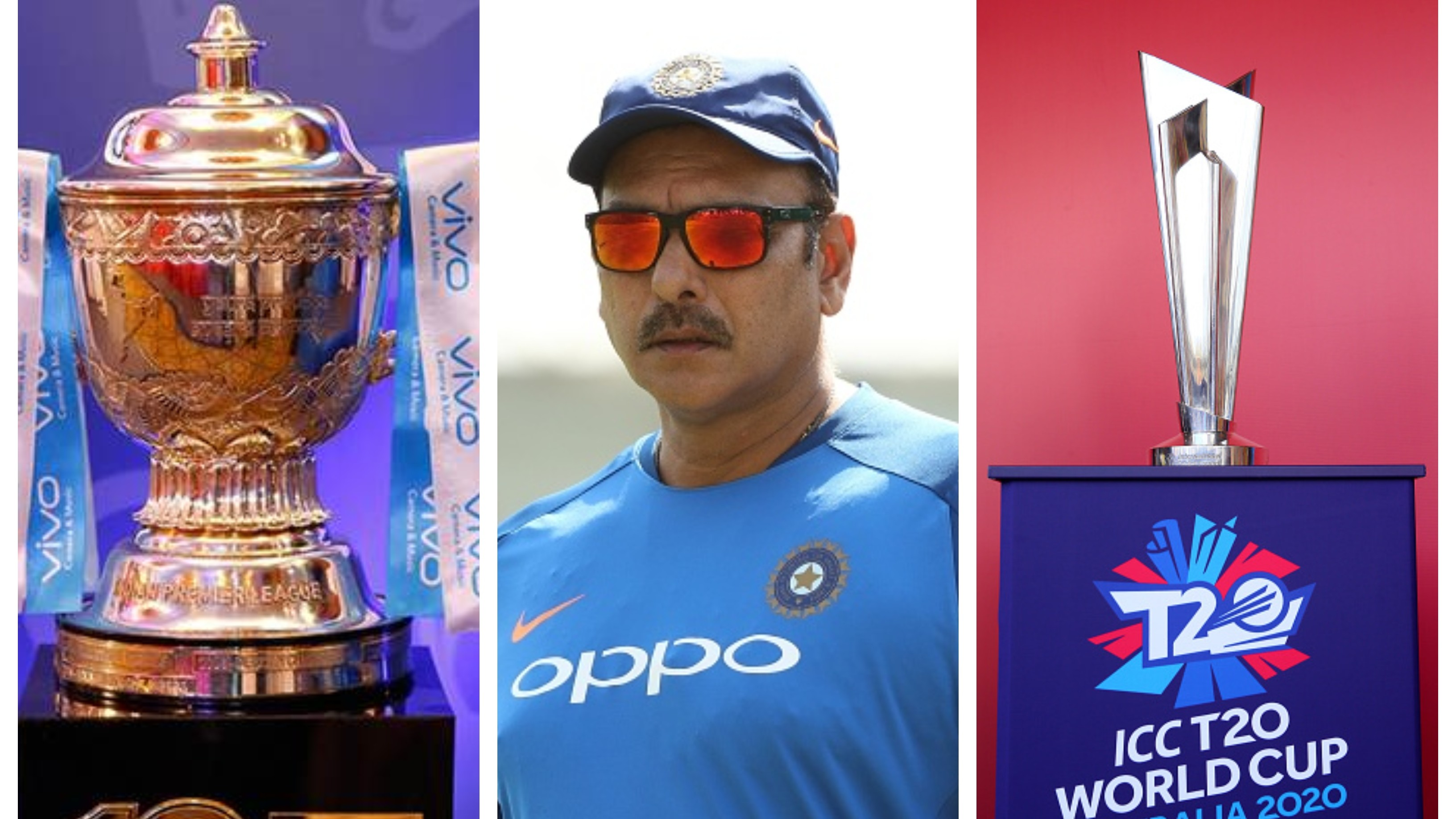 Shastri bats for domestic cricket, IPL over T20 World Cup in priority list amid COVID-19 crisis