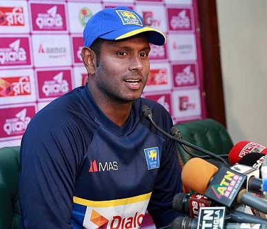 We have to play our A-game to win matches, says Angelo Mathews