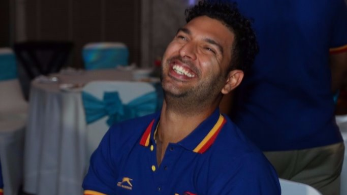 Watch: Yuvraj Singh in splits after knowing what cricket is called in China