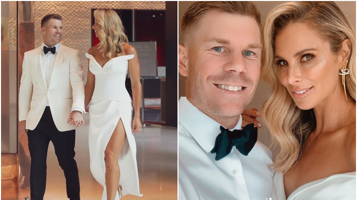David Warner and Candice Warner post pictures on their 6th wedding anniversary
