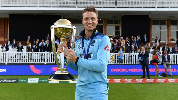 Jos Buttler elated with response to auction for World Cup final shirt