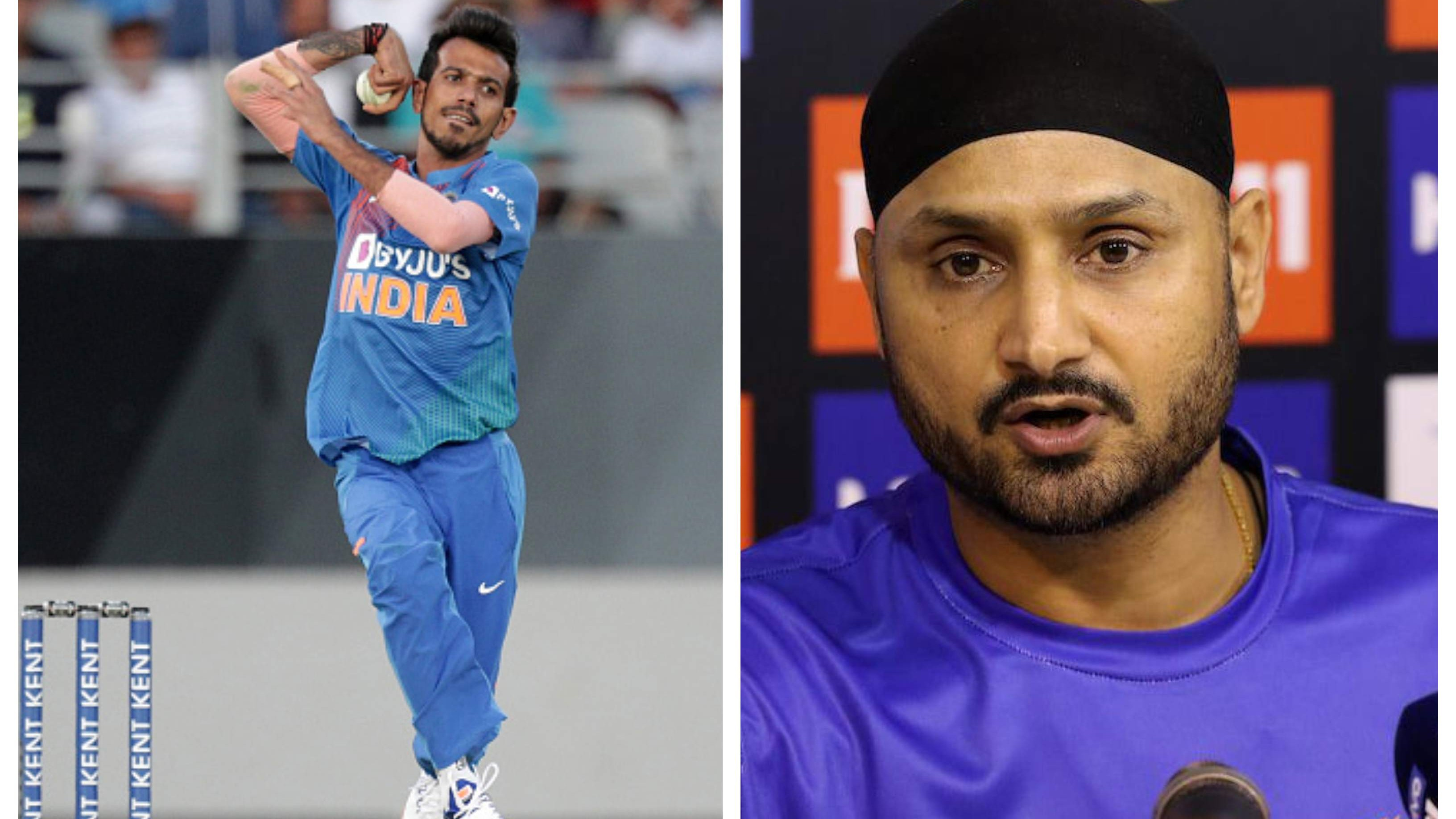 Harbhajan deems Chahal as India's No. 1 spinner for T20 World Cup