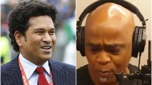 WATCH - Vinod Kambli completes Sachin Tendulkar's rap challenge of 'Cricket Wali Beat'