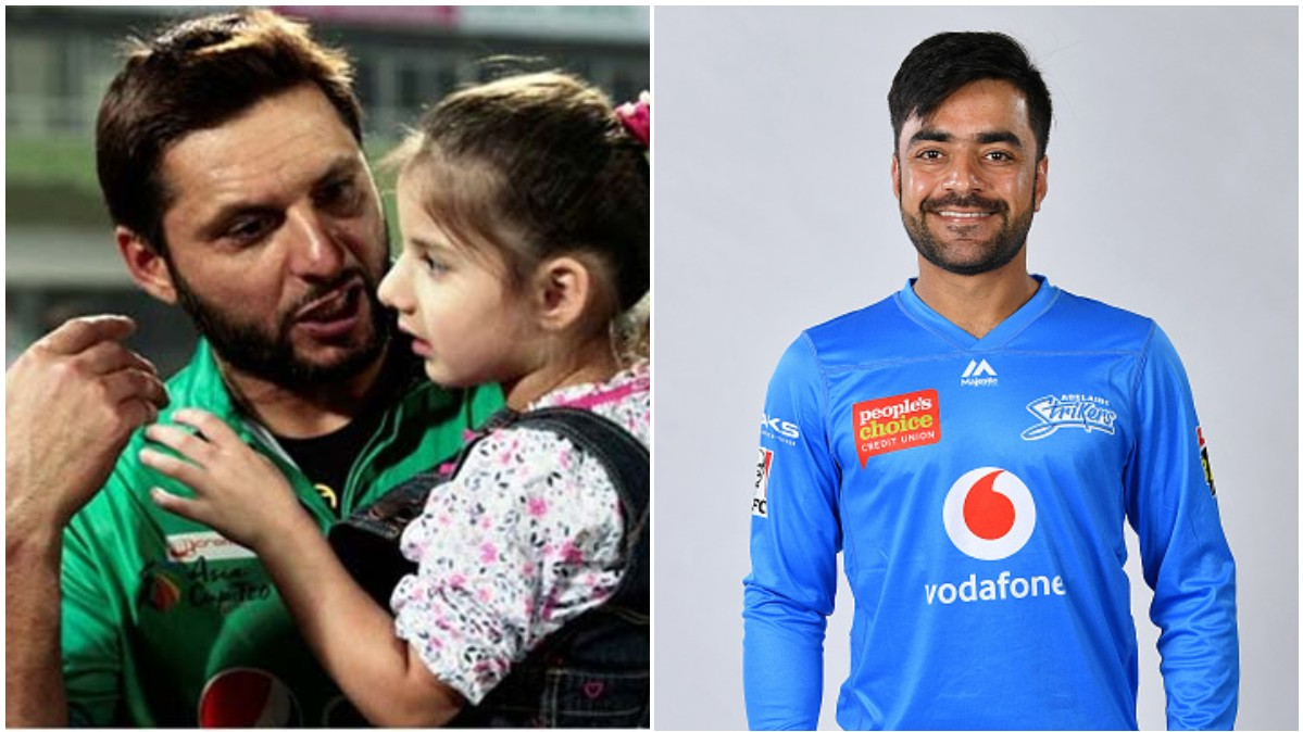 Rashid Khan suggests a lovely name for Shahid Afridi's newborn daughter